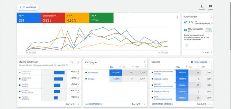 Google Annoncering - Google Ads - for revisorer og bogholdere