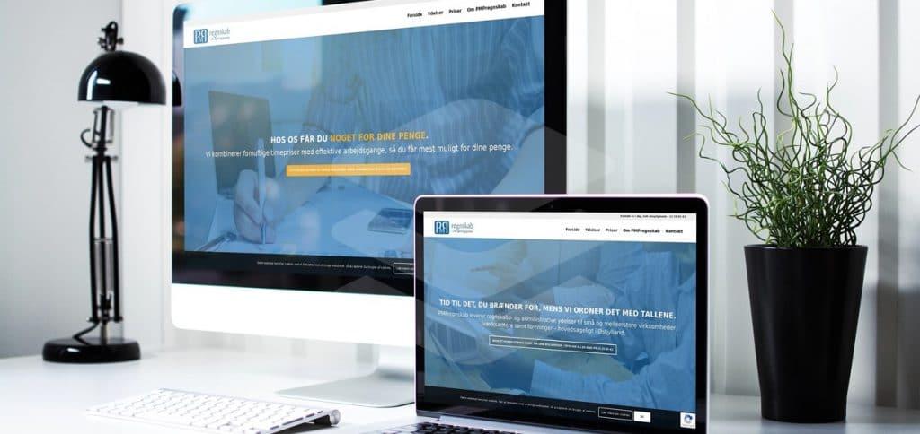 Webdesign for bogholdere og revisorer